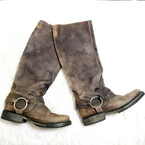 Steve Madden | Tall Distressed Riding Boot